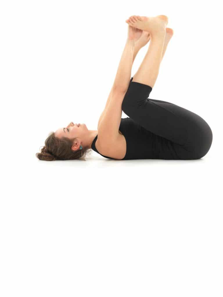 bébé heureux yoga